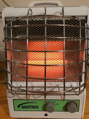 Matrix Portable Fan Forced/Radiant Utility Heaters