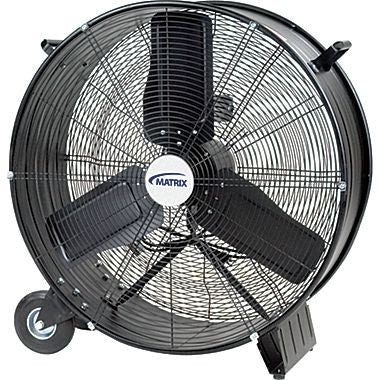 "Matrix EA286 28-Inch Industrial Grade Drum Fan 28"" Commercial Shop Warehouse"
