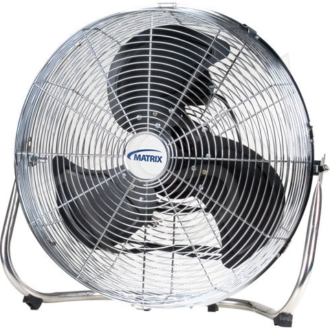 "Matrix 18"" EA290 High Velocity Floor Fan Portable 3 Speed Air Flow Tilt Industrial Commercial"