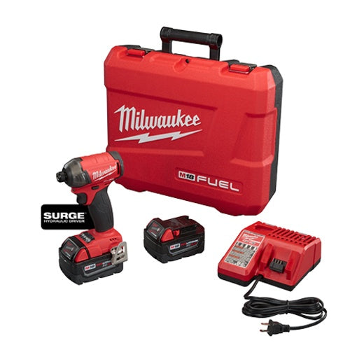 "Milwaukee 2760-22 M18 FUEL™ SURGE™ 1/4"" Hex Hydraulic Driver Kit"