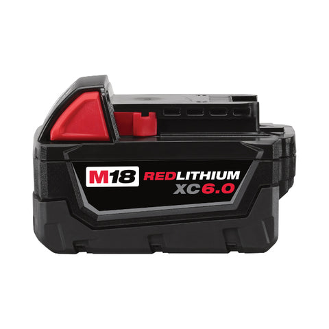Milwaukee 48-11-1860 M18 18-Volt 6.0 Amp Lithium-Ion Cordless Battery Pack