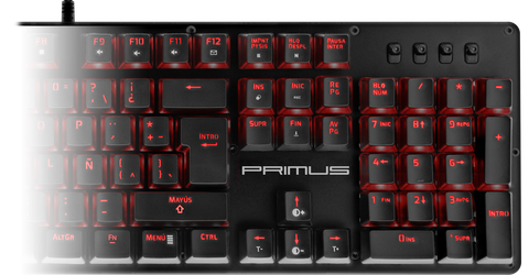 Primus Keyboard Ballista 100T Red Switch Gaming Silent
