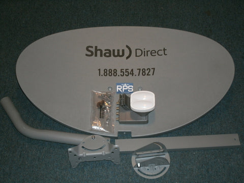 Shaw Direct 60cm Satellite Dish Kit 60E with xku lnbf