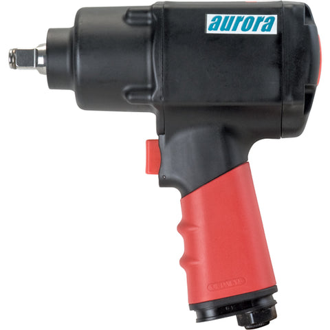 "Aurora Tools 1/2"" Heavy-Duty Composite Air Impact Wrench"