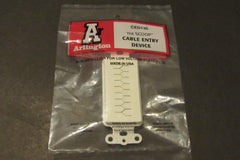 Arlington Industries CED130 Cable Entry Device with Slotted Cover Insert