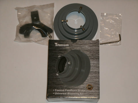 Titanium Satellite CS1 Conical Scalar Kit