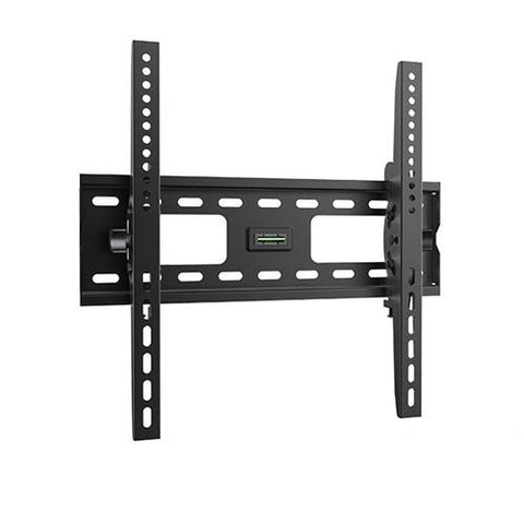 "Classic Heavy Duty 32""-55"" 75kg/165lbs Curved & Flat Panel TV Tilting Black Steel Wall Mount"