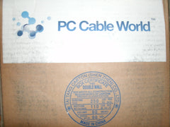 PC Cable World Solid Cat5e UTP 1000/ft