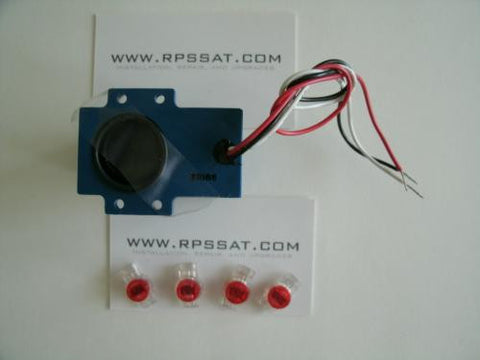 Chaparral Servo Motor Polarizer Switch Feedhorn Polarity and Skew Control