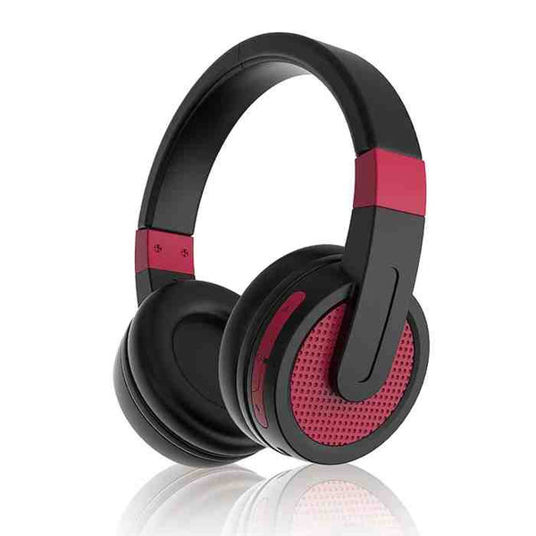 Sylvania SBT274 full-sized bluetooth stereo headphones with microphone