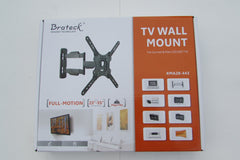 "Brateck Articulating Tilt Swivel LED Curved & Flat LCD Plasma TV Monitor Wall Mount Bracket 23"" - 55"""