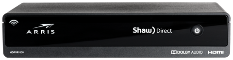Shaw Direct Arris DSR830 Dual Tuner Advanced HD PVR