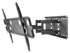 "SUPER Heavy Duty Full Motion TV wall mount 220lbs 100kg 42""-80"" LCD LED Plasma"