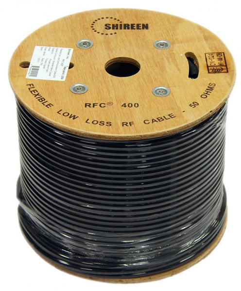 Shireen RFC400 Low Loss Coax Spool reel RFC 400 LMR cable
