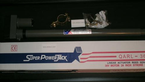 "Super PowerJack 18"" QARL-3618 Heavy Duty C-Band Satellite Actuator"