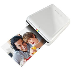 Polaroid ZIP Mobile Printer Zero Ink Printing Technology – Compatible w/iOS & Android Devices