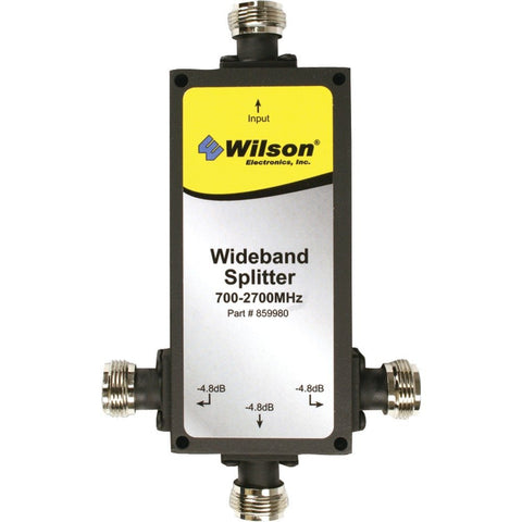 Wilson 859980 3-Way 50 Ohm Splitter 700-2700 Mhz with N-Female Connectors
