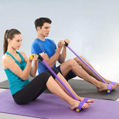 SHAPE YOUR BODY WITH YOGA RESISTANCE BAND