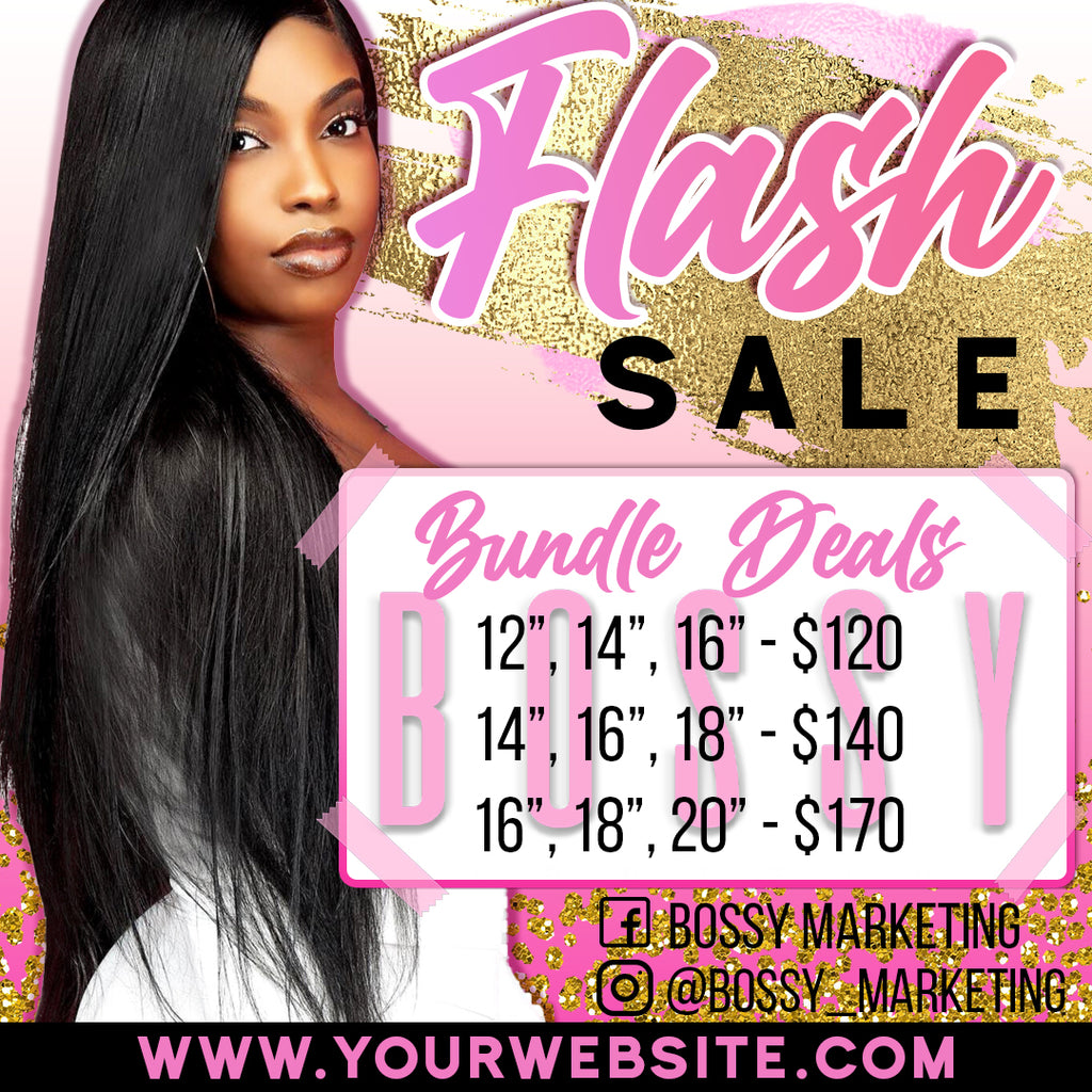 Flash Sale Price List (Pink and Gold)