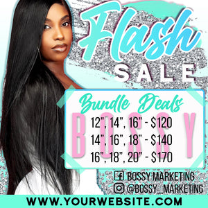 Flash Sale Price List (Teal and Silver)
