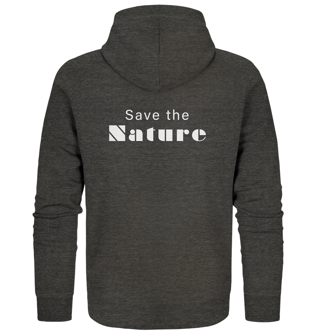 Save the Nature - Organic Zipper