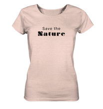 Charger l'image dans la galerie, Save the Nature - Ladies Organic Shirt