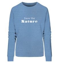 Charger l'image dans la galerie, Save the Nature - Ladies Organic Sweatshirt