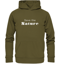 Charger l'image dans la galerie, Save the Nature - Organic Hoodie