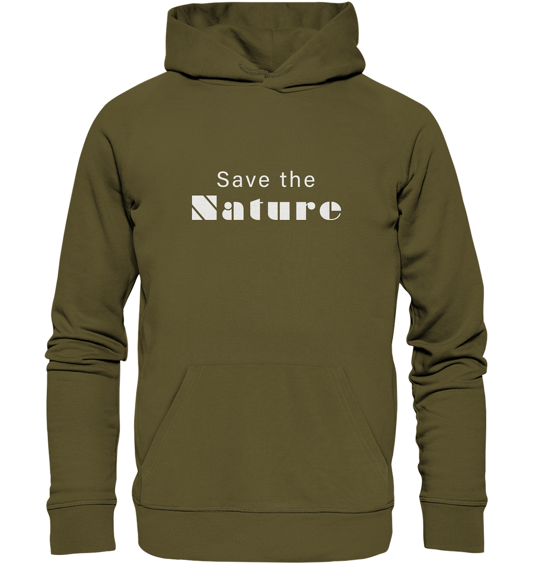 Save the Nature - Organic Hoodie