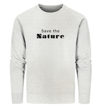 Charger l'image dans la galerie, Save the Nature - Organic Sweatshirt
