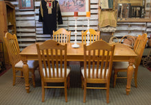 Load image into Gallery viewer, Pine Table with Six Chairs (Store Pick-Up Only)