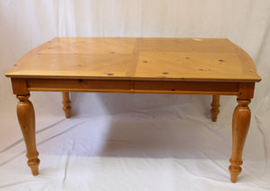 Pine Table with Six Chairs (Store Pick-Up Only)
