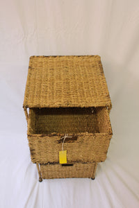 Wicker Storage Unit (In Store Pick-Up Only)