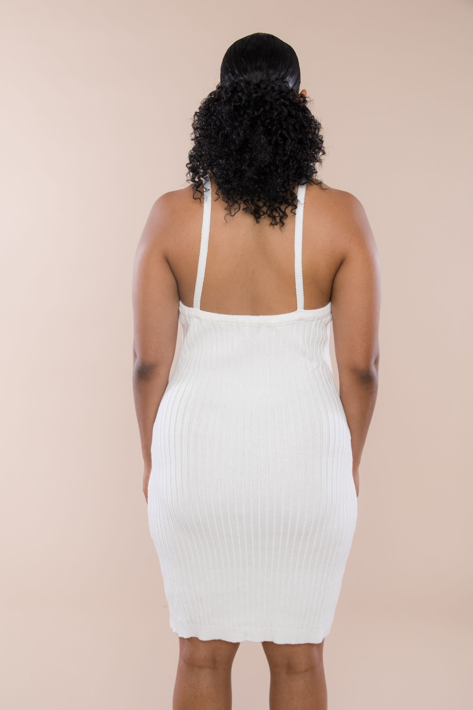 Knit Ribbed Cami Dress