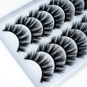 B.F.F | 10 Pack Faux Mink Lashes
