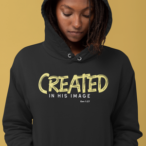 CREATED In His Image - Hoodie (Dark)