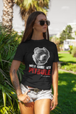 Don't Judge My Pitbull Unisex T-Shirt