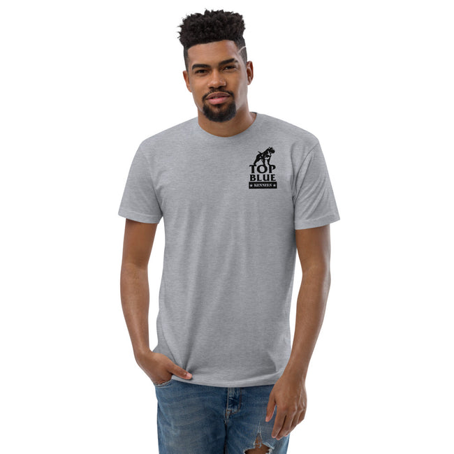 Beware of The Dog Short Sleeve T-shirt ( White/Grey)