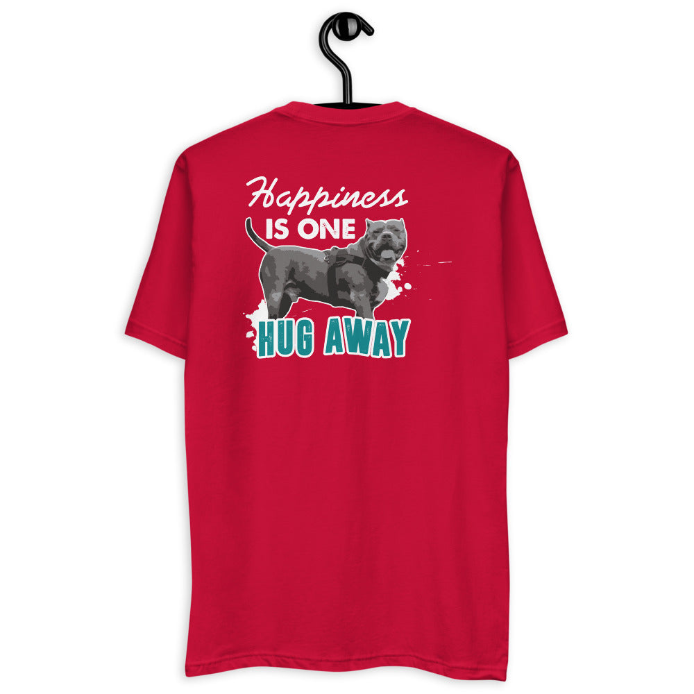 Happiness Is One Hug Away Short Sleeve T-shirt