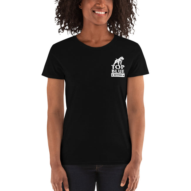 Warning Beware Of The Dog Women's Short Sleeve Tees