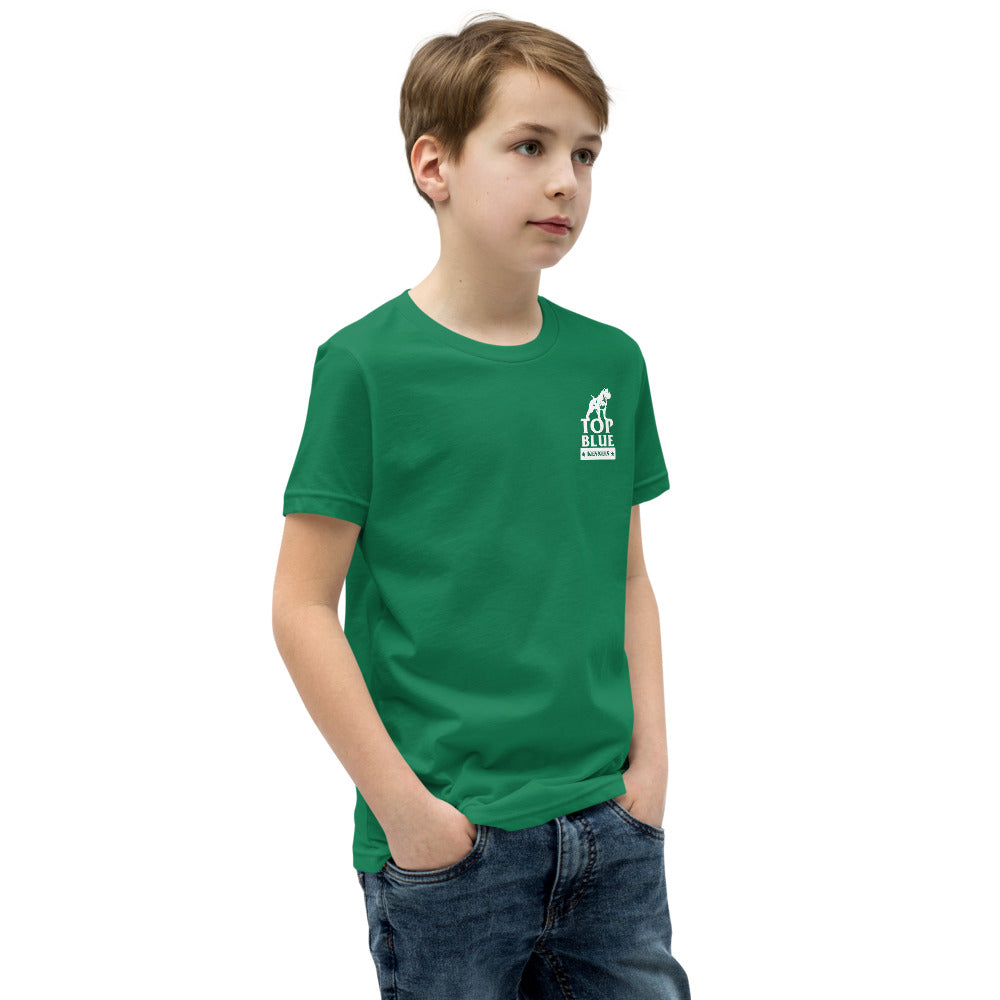 Resting Pit Face Youth Short Sleeve T-Shirt