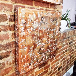 Copper Wall Plaque