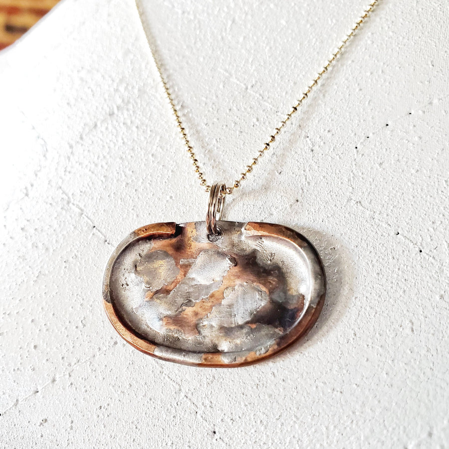 Dirty Penny Necklace