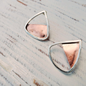 Binary Angle Earrings