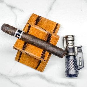 The Cigarro Wood Cigar Stand