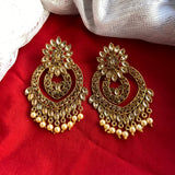 Golden Stone Earrings ES947