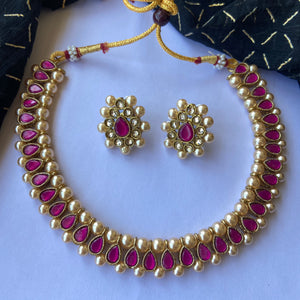 Purplestone necklace NKC667