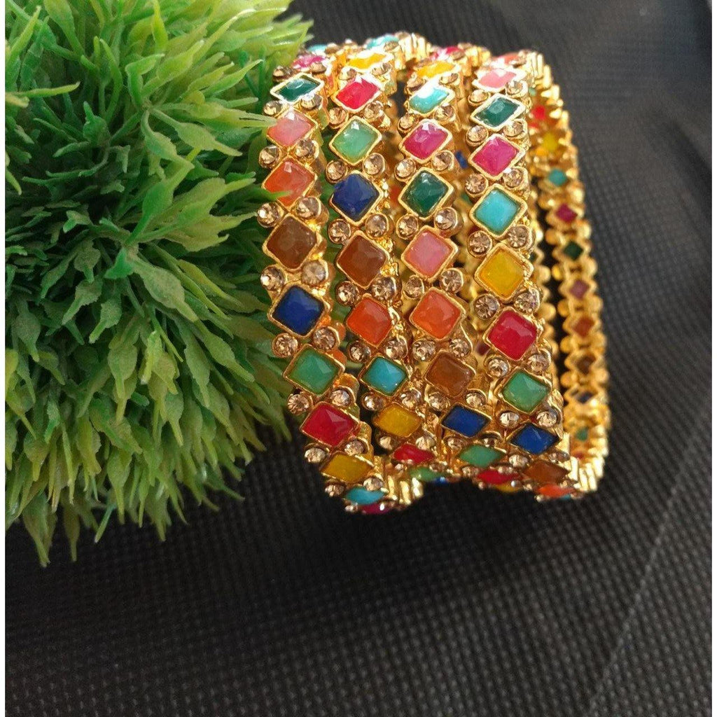 Multicolored Bangles B33 | Sunu's Fashions