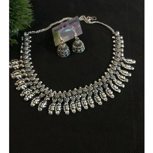 German Silver Necklace NKC181 | Sunu's Fashions