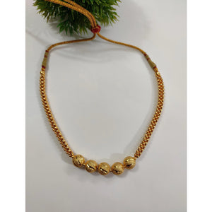 Gold Plated Necklace NKC187 | Sunu's Fashions